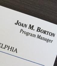 Joan card